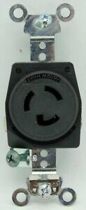 Arrow Hart AH4760 4760 15 AMP 277 VAC L7-15R Black NEMA Locking Receptacle