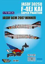 DXM decal 1/72 JASDF F-4EJ Kai 302nd SQ ACM 2007 Winner