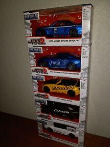 Jada Jdm Tuners 1/32 Nissan GTR Honda NSX Lot Of 5 Rare white blue black yellow