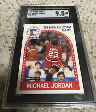 1989-90 Hoops Michael Jordan ALL-STAR #21 SGC 9.5 MINT+
