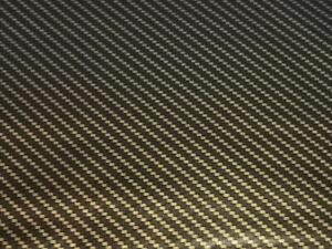 Wassertransferdruck Folie Chrome Gold Carbon - 100cm breit