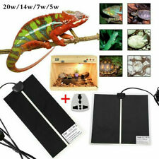 Reptile Vivarium Heater Heating Mat Warm Pad Thermostat Controller 5/7/14/20W