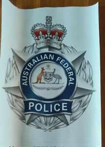 Australian Federal Police Print On Mesh