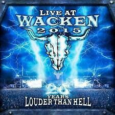 Live At Wacken 2015-26 Years Louder Than Hell-Various Artists (2016), 2 DVD, 2CD
