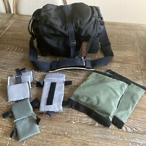 DOMKE J-3 Black Compact Journalist Camera Bag with customizable interior- Rare!