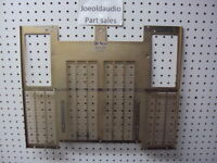 Kenwood Original KR 9600 Original Wood Case Bottom Plate. Parting Out KR 9600