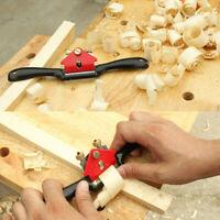 "Metal Woodworking Blade Spoke Shave Manual Planer Plane Deburring Hand Tools 9"""