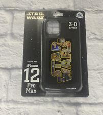 New Disney Parks Star Wars Leia 3-D D-Tech iPhone 12 Pro Max Phone Case