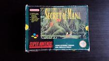 Super Nintendo  boite SECRET OF MANA