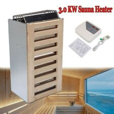 More details for electric sauna heater 3kw steam room spa sauna stove w/lcd external controller