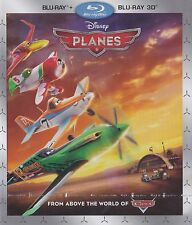Planes (2013) | NEW SEALED DISNEY BLU-RAY (Family, Adventure, Kids Film, Cars)