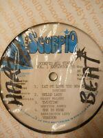 Black Scorpio All Stars - Vol.1 Singers - Various Artists - Vinyl LP 1988