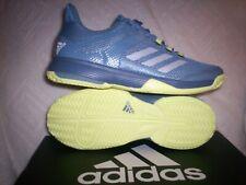 Youth Adidas adizero Club K Nib Size 7 Grey/Yell Cp9356