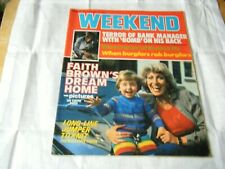 Weekend Magazine, December 3-9 1980, Faith Brown