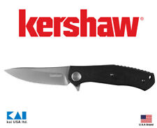 "Kershaw Knives 4020 Concierge Folding Knife 3.25"" 8cr13mov Blade G10 Handle"