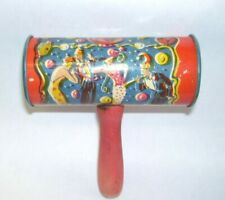New Year's Eve Tin Noise Maker Usa Hammer Style Wood Handle