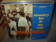 COUNTRY JOE & THE FISH together ( rock ) - vanguard gold -