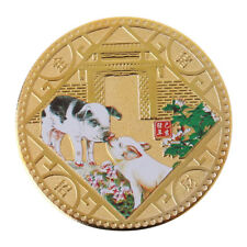 GT- New 2019 Lucky Pig Commemorative Coins Collection New Year Gift Gold Plated