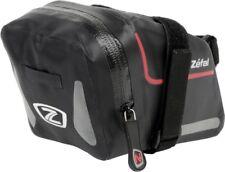 ZEFAL por Seco Pack L Bolsa de sillín de bicicleta 1.2L Negro Impermeable Con