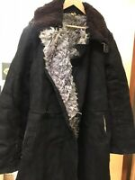 Tulup coat military Russian Army Officer Winter Sheepskin USSR size 50 (US M)