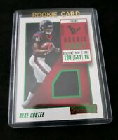 KEKE COUTEE > 2018 Contenders GREEN SP Rookie Ticket Jersey Relic - Texans RC