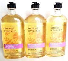 Bath and & Body Works x3 Aromatherapy Black Currant Vanilla Body Wash Foam Bath