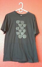 Black t shirt with rayban sunglasses Anvil Sustainable custom Wakarusa Large