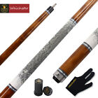 "Weichster 58""1/2 Billiard Pool Cue Stick Birdeye Maple Wood 19oz-21oz 13mm Tip"