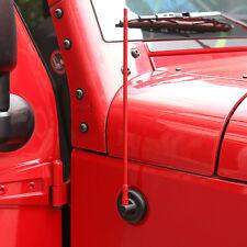 red Car Radio FM AM Signal Rubber Antenna 33CM For Jeep Wrangler JK (2007-2016)