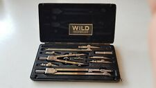 More details for wild heerbrugg vintage swiss technical drawing set - rz 22 complete