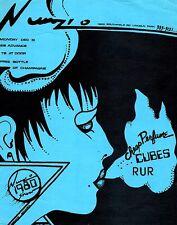 Vintage 1980 Punk Flyer Cheap Perfume / Cubes / RUR – Lincoln Park Michigan