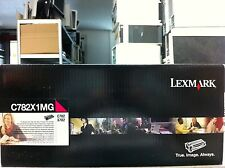 ORIGINAL Lexmark Cartouche d'encre C782X2MG C782X1MG MAGENTA POUR C782 X782 B