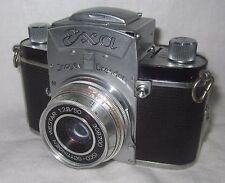 Vintage Ihagee Exa 35mm Film Camera w/Isco Gottingen Westar 1:2.5/50mm Lens