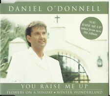 DANIEL O'DONNELL - YOU RAISE ME UP CD EP / WINTER WONDERLAND XMAS, FLOWERS ON A
