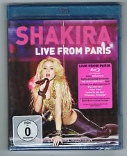 SHAKIRA - LIVE FROM PARIS - BLU-RAY NEUF NEW NEU