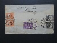 Hungary 1927 Cover to USA w/ Light Creasing - Z8531