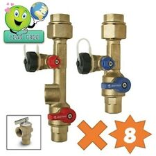 8 sets of Isolation Valve Kits (Sweat) LEAD FREE for Tankless Water Heater
