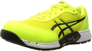 ASICS Working Safety Shoes WIN JOB CP212 AC WIDE 1271A045 Yellow With Tracking