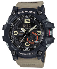 Casio G-Shock Mudmaster 56.3 mm Stainless Steel Case Beige Wrap-Around Strap -  (GG10001A5)