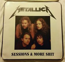 Vintage Metallica Sessions & More Sh*t 4 CD Gold Box Set '94 Limited 1000 Copies