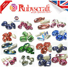 Swarovski Crystal Round Oval Pear Heart Baguette Octogon Flower Stones chaton