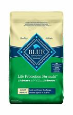 Blue Buffalo Life Protection Formula Dog Food – Natural Dry Dog Food for Adul...