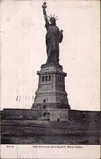 (12mc) New York NY: Statue of Liberty