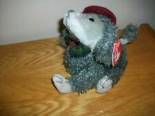 """Ty Attic Treasures Poodle Cheri 1993  with hang tag 6"""" sitting"""