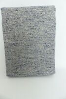 John Lewis Boucle Eyelet Lined Curtains Grey Blue W167cm D137cm