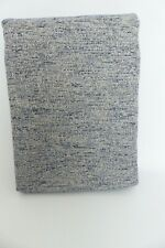 John Lewis Boucle Eyelet Lined Curtains Grey Blue W167cm D137cm