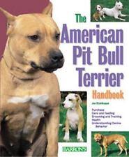 American Pit Bull Terrier Handbook (Barron's Pet Handbooks) - LikeNew - Stahlkup