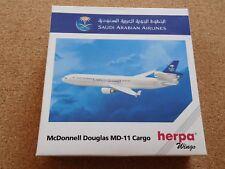 HERPA WINGS Saudi Arabian Airlines McDonnell Douglas MD-11 Cargo - unbespielt