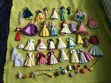 RARE Huge Bundle Of Polly Pocket/Disney Dolls, Clothes & Accessories VHTF