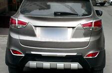 For Hyundai Tucson ix35 2010-2014 Car Rear Fog Light Lamp Decor Cover Trim 2PCS